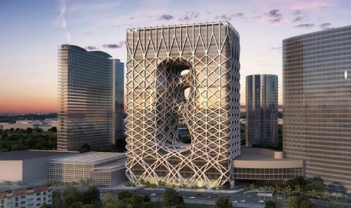 New Hotel Tower at the Macau City of Dreams