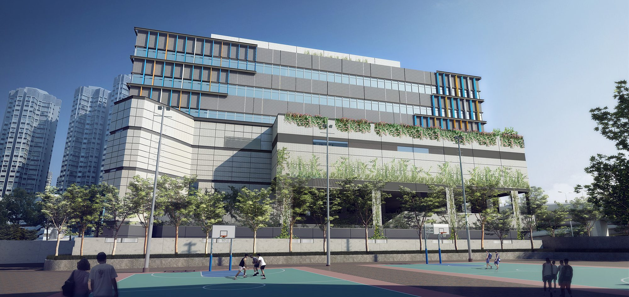 香港天水围水务署新界西分署及水资源教育中心