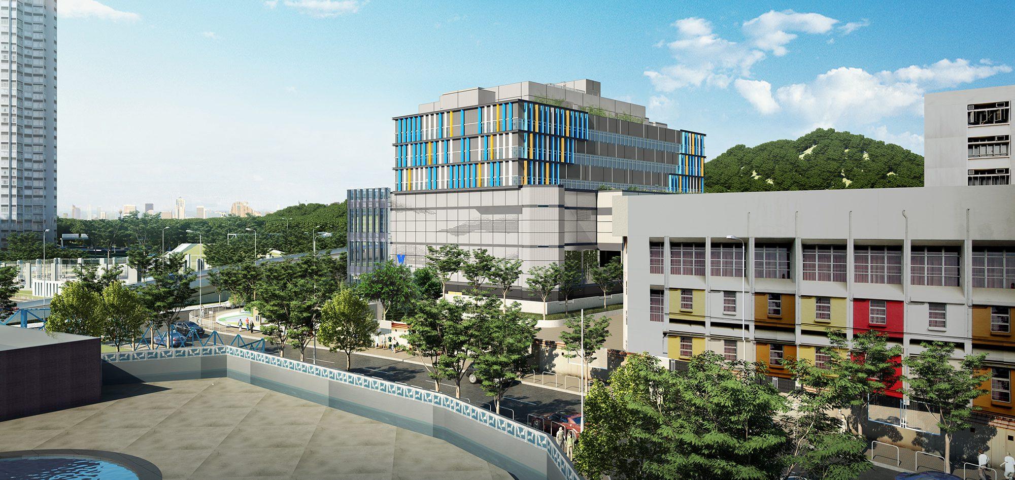 香港天水圍水務署新界西分署及水資源教育中心