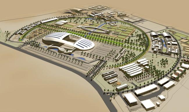 AL SHAQAB马术学院(总体规划)