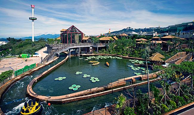 香港海洋公园高峰乐园热带雨林天地