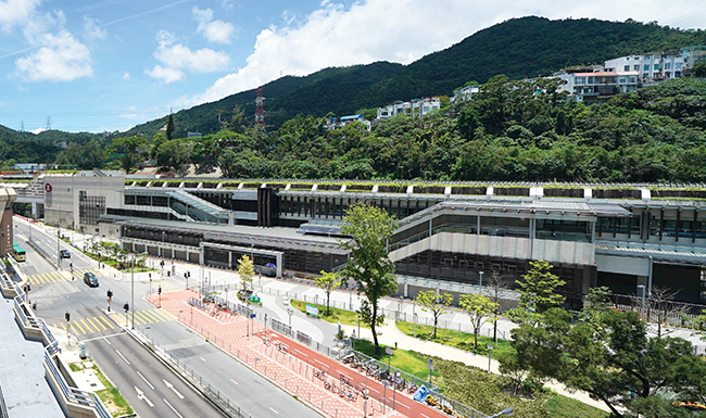 Hin Keng Station, MTR Shatin to Central Link