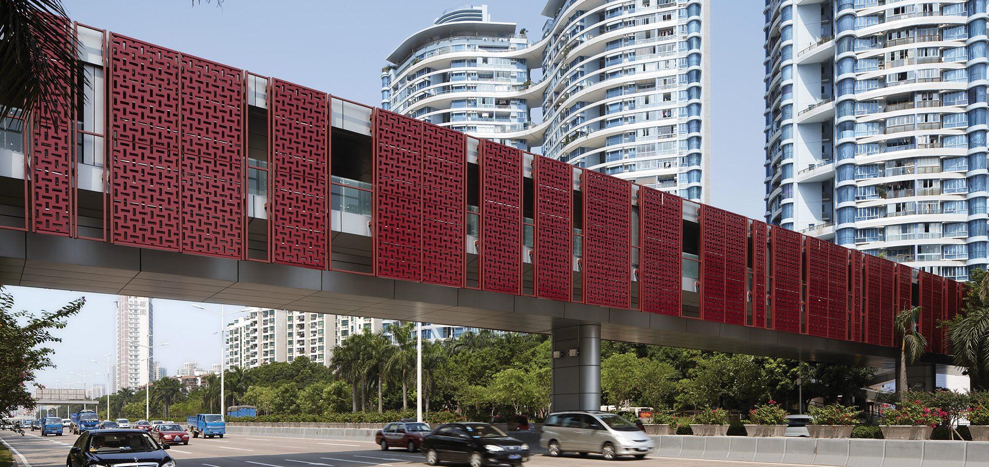 Shenzhen Futian District Footbridge Renovations