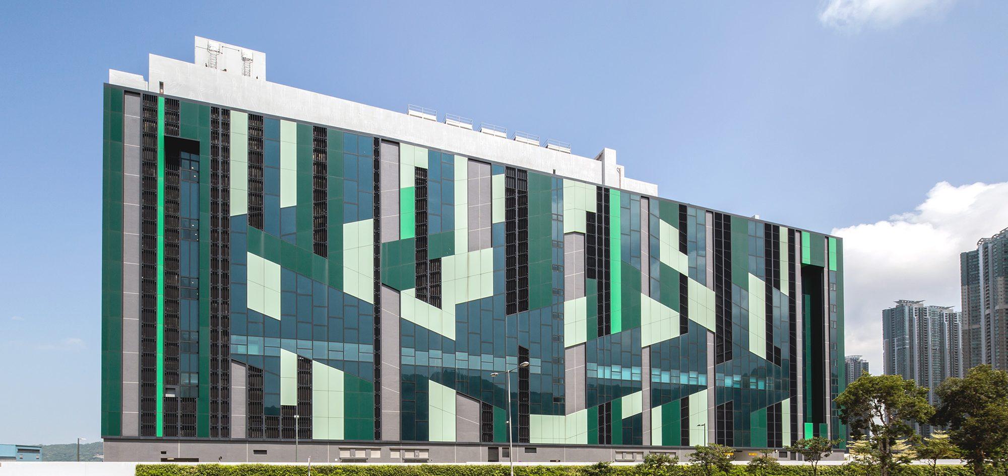 將軍澳工業村通訊機構數據中心