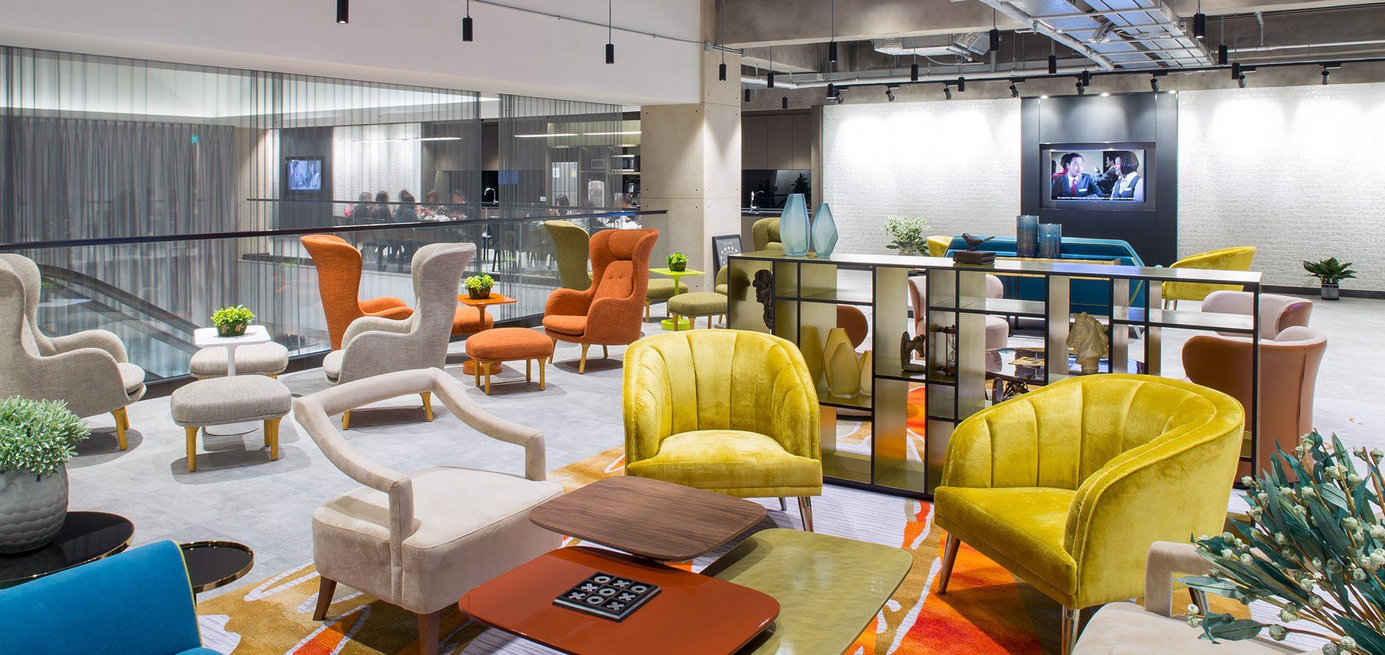 新濠博亚娱乐办公室室内设计项目