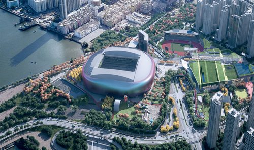 Hong Kong Government awards contract for Kai Tak Sports Park