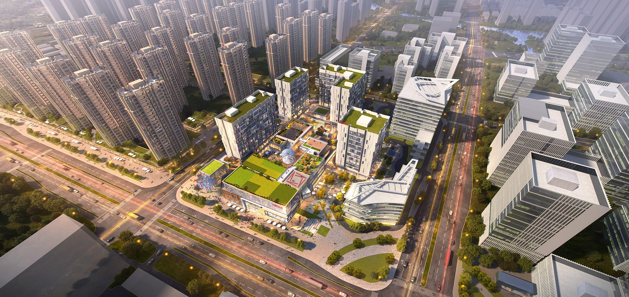 Vanke Hangxinglu Mixed-use Project