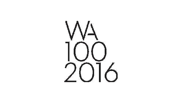 WA 100 World Top 38 Architectural Practice 2016