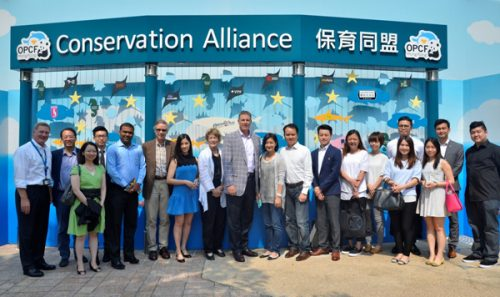 "L&O joined the ""Conservation Alliance"" of Ocean Park"