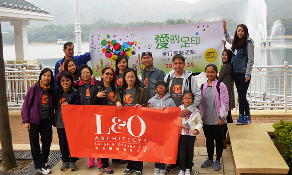 L&O joined the Haven of Hope Walkathon 2015