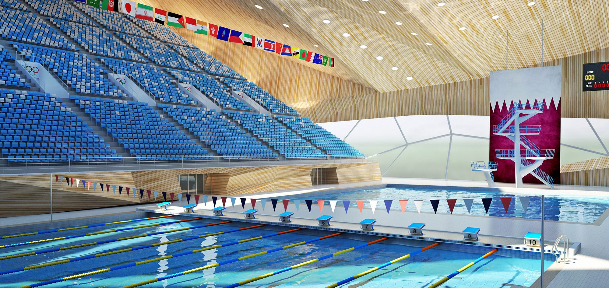 Olympic Swimming Pool Facilities