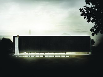 West Kowloon Cultural District Arts Pavilion competition entry commended