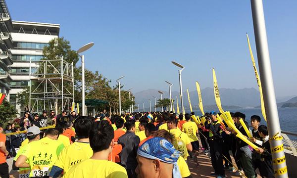 利安參與由萬科置業舉辦的5公里慈善跑步活動