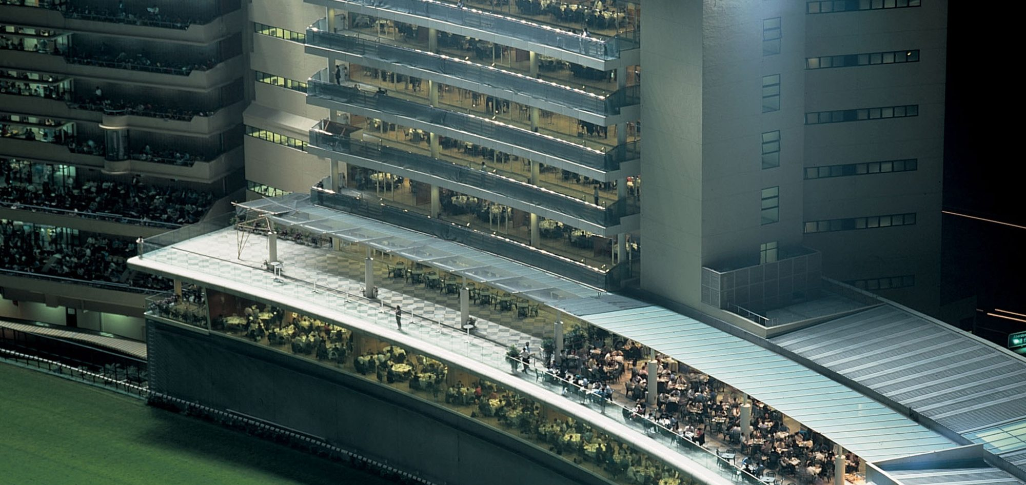 香港赛马会跑马地马场扩建
