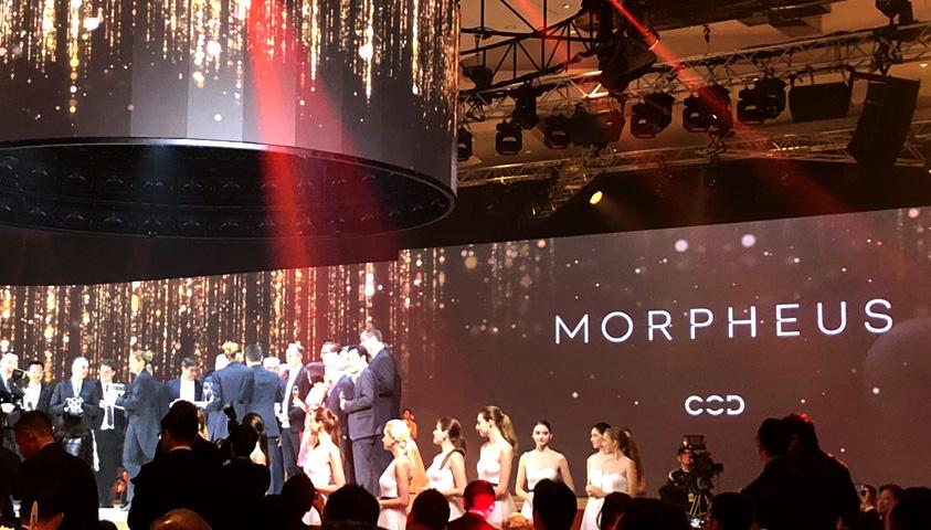 Leigh & Orange celebrates the opening of Morpheus hotel