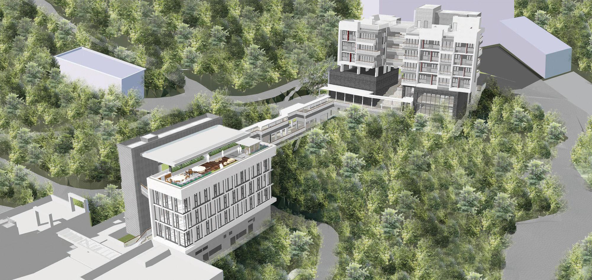 香港中文大學崇基學生發展綜合大樓