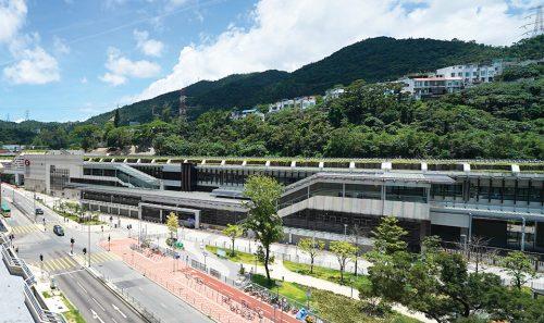 「屯马线一期」显径站于2020年2月14日正式启用