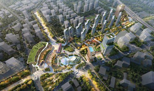 Groundbreaking ceremony for Hangzhou New World Project