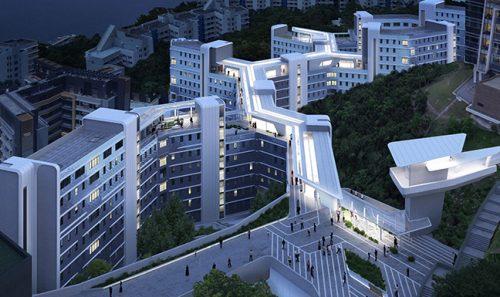 利安与Zaha Hadid Architects设计香港科技大学学生宿舍